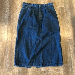 VTG Denim Skirt